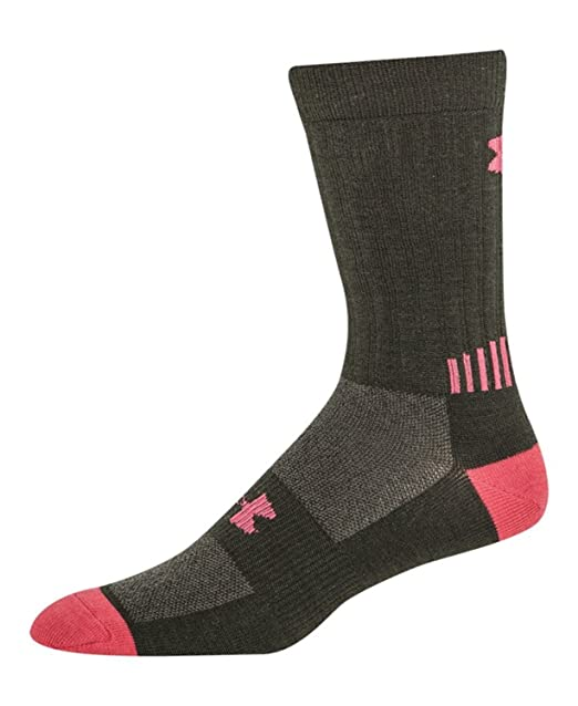 00d8ec2e9 Amazon.com: Under Armour Mens UA Scent Control ColdGear® Infrared Light Crew  Socks Extra Large Rifle Green: Sports & Outdoors