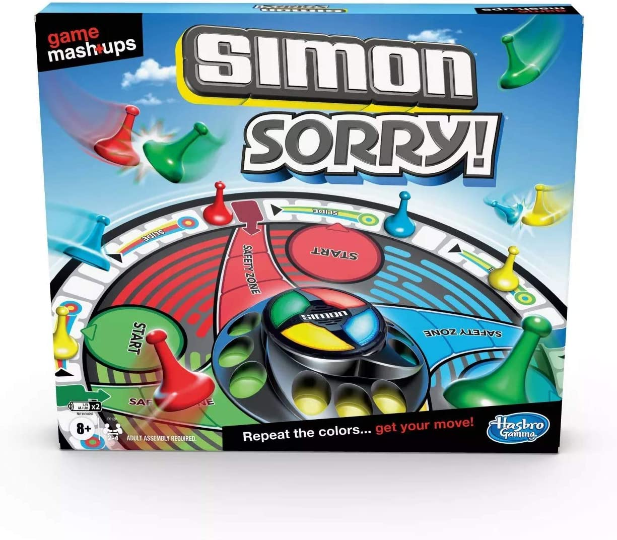 Game Mashups Simon Sorry! Game
