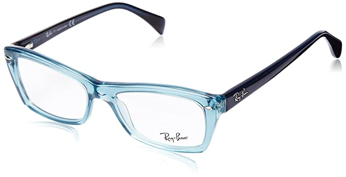 Ray-Ban 5255_5235 (51 mm) gafas de sol, Azul, 51 para Mujer ...