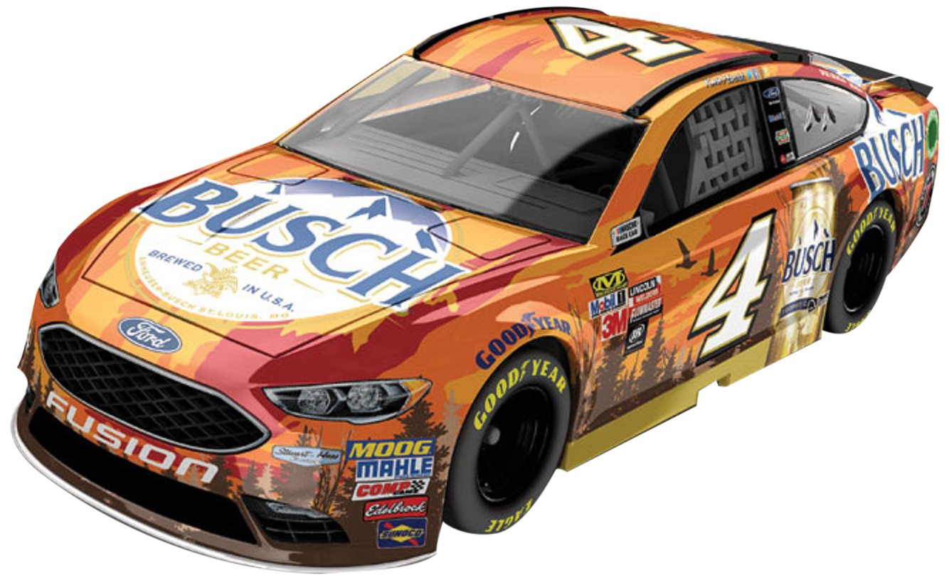 Lionel Racing Kevin Harvick #4 Busch Beer Outdoors 2017 Ford Fusion 1 Diecast Car 1 64 Scale