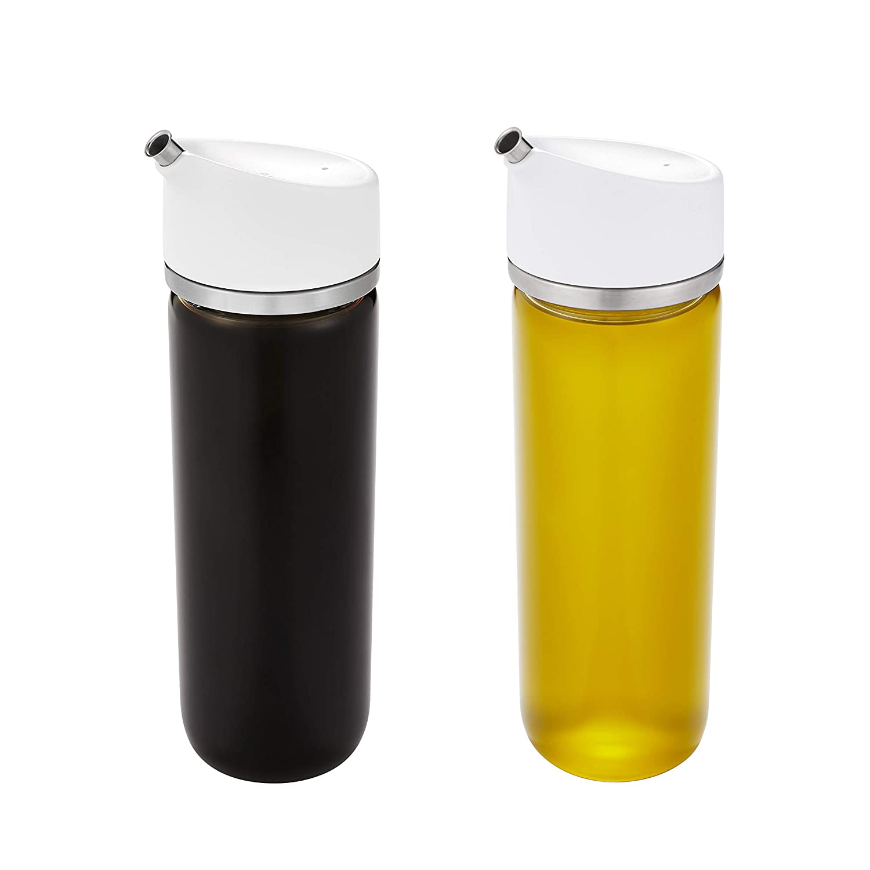 OXO Good Grips Precision Pour Glass Oil & Vinegar Dispenser Set, 12 oz