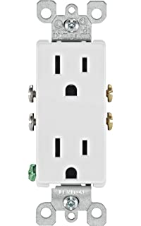 topgreener tu2154a smart ultra high speed usb charger outlet 15 leviton 5325 wmp 15 amp 125 volt decora duplex receptacle residential grade