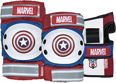 Marvel Captain America Tri-Pack - Protectores para Cartas: Amazon ...
