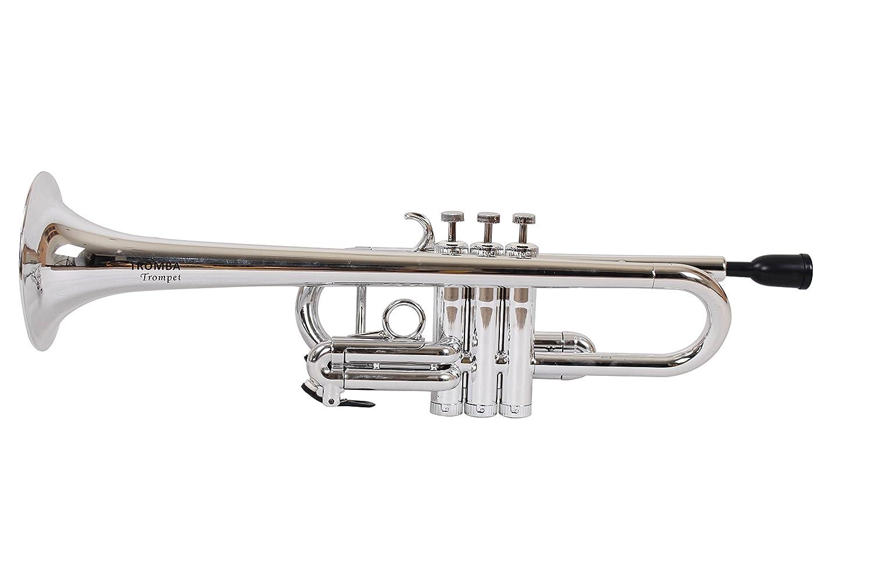 Verwonderlijk Amazon.com: Tromba Pro Professional Plastic C Trumpet-silver UX-75