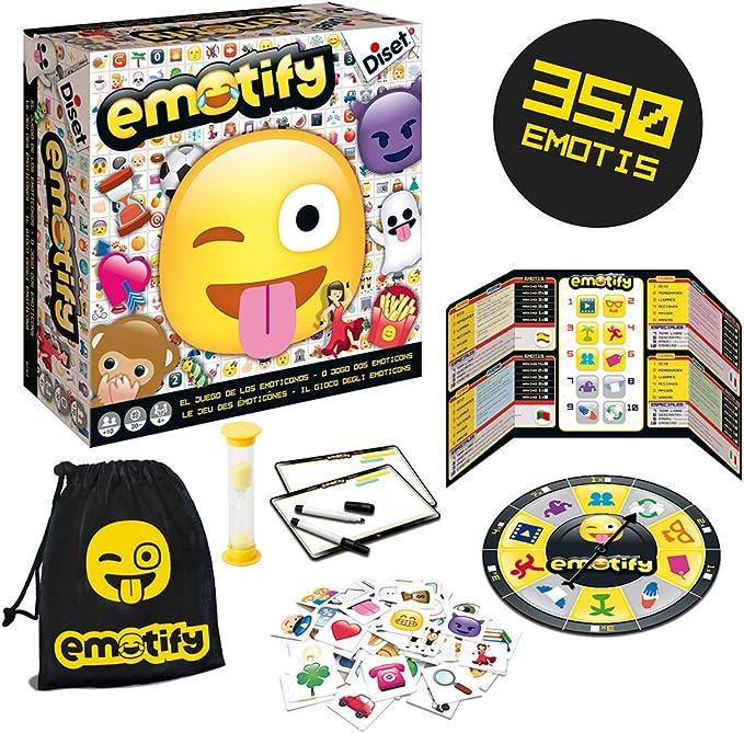 Diset - Emotify, juego de mesa, Miscelanea (62301): Amazon.es: Juguetes y juegos