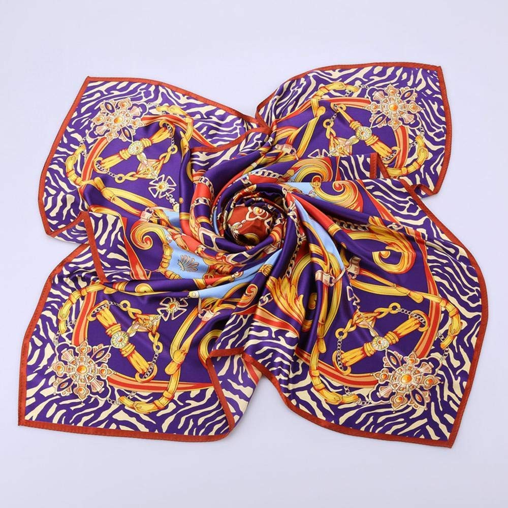 bluee Paioup Ladies silk silk scarf silk print scarves silk gift Perfectly expresses unique temperament