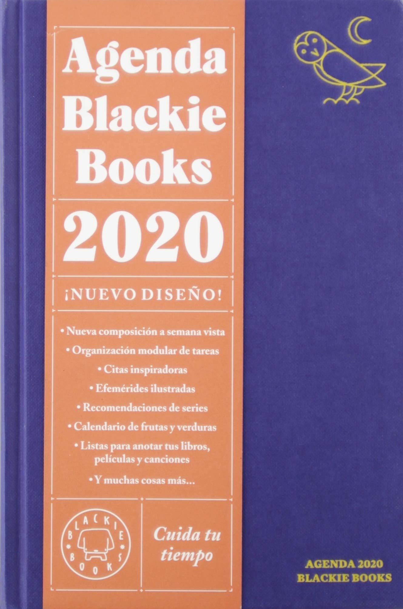 Agenda Blackie Books 2020: Cuida tu tiempo: Amazon.es: Julio ...