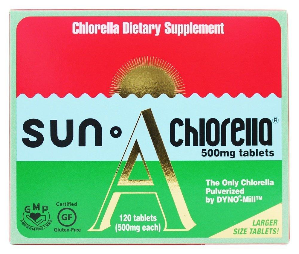 Sun Chlorella A Tablets 500 mg 120 Tablets