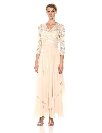 23c8171e67b Emma Street Women s Lace and Chiffon Gown