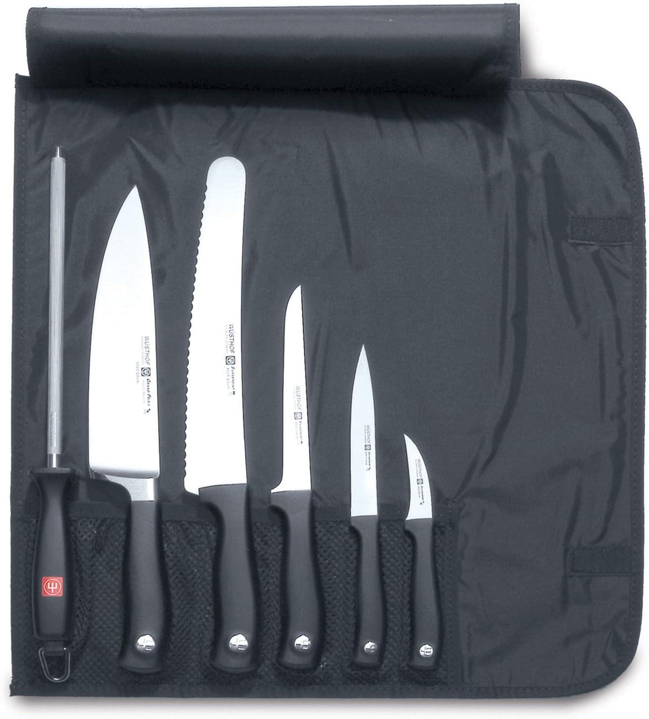 Compra Wüsthof 9783 - Estuche para Cuchillos de Cocina, Color Negro en Amazon.es