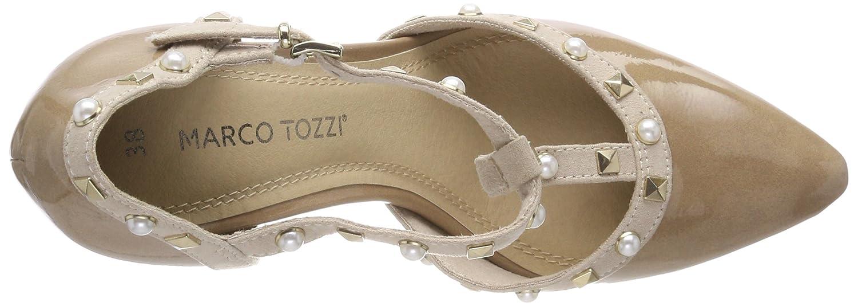Marco Tozzi 24412, Scarpe con Chiusura a T Donna    Rosa (Candy Pat. Com) 3da335