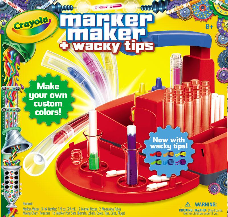 Amazon.com: Crayola Marker Maker Wacky Tips: Toys & Games