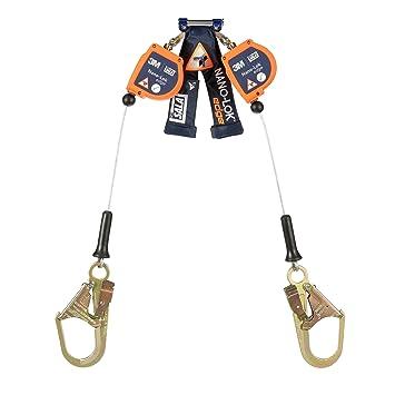 DBI/Sala Nano-Lok Edge, 3500229 SRL, 8 pies, doble pata 100% Tie ...