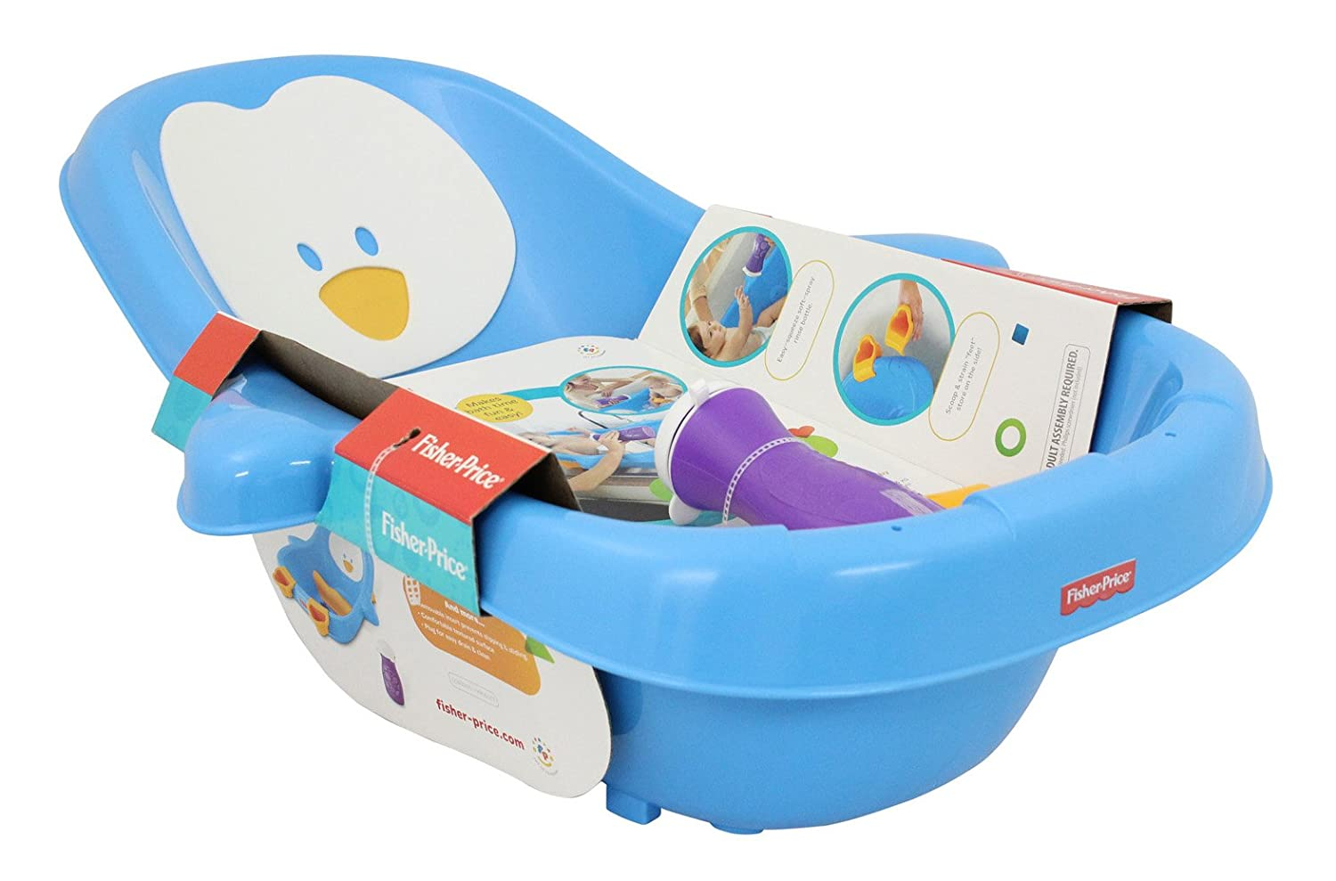 Amazon.com : Fisher-Price Penguin Pal Tub (Discontinued by ...