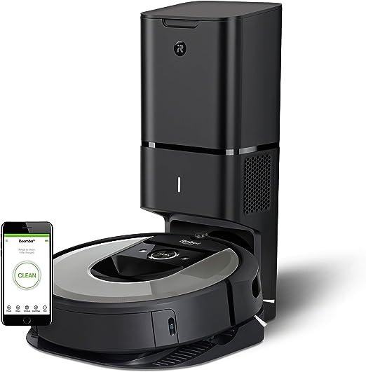 iRobot Roomba i7+ aspiradora robotizada Sin bolsa Negro 0,4 L ...