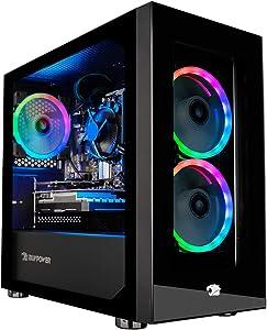 iBUYPOWER Pro Gaming PC Computer Desktop Element Mini 167A (AMD Ryzen 5 3600 3.6GHz, NVIDIA GeForce GT 730 2GB, 8GB DDR4 RAM, 240GB SSD, WiFi Ready, Windows 10 Home)