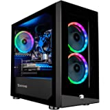iBUYPOWER Gaming PC Computer Desktop Element Mini 9300 (AMD Ryzen 3 3100 3.6GHz, AMD Radeon RX 550 2GB, 8GB DDR4 RAM…