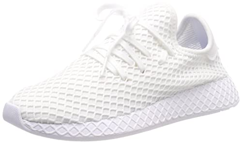 Amazon.com | adidas Originals Deerupt Runner J Solar Red ...