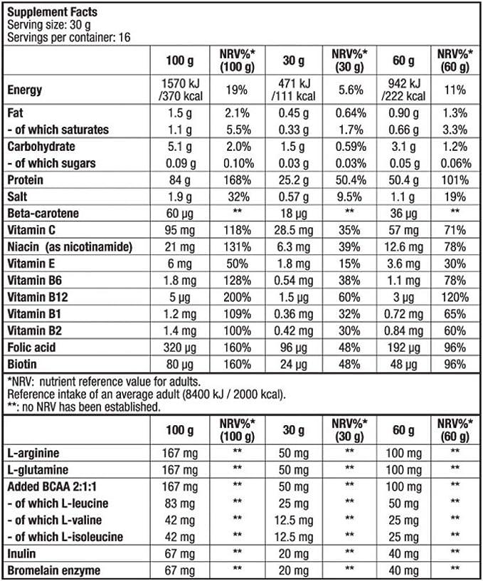 Biotech USA Beef Protein Hydro Beef Proteínas Sabor Vainilla ...