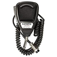 Astatic 302-636LB1 Black Noise Cancelling 4 Pin CB Microphone
