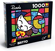 P. 1.000Pç Cat - Romero Britto