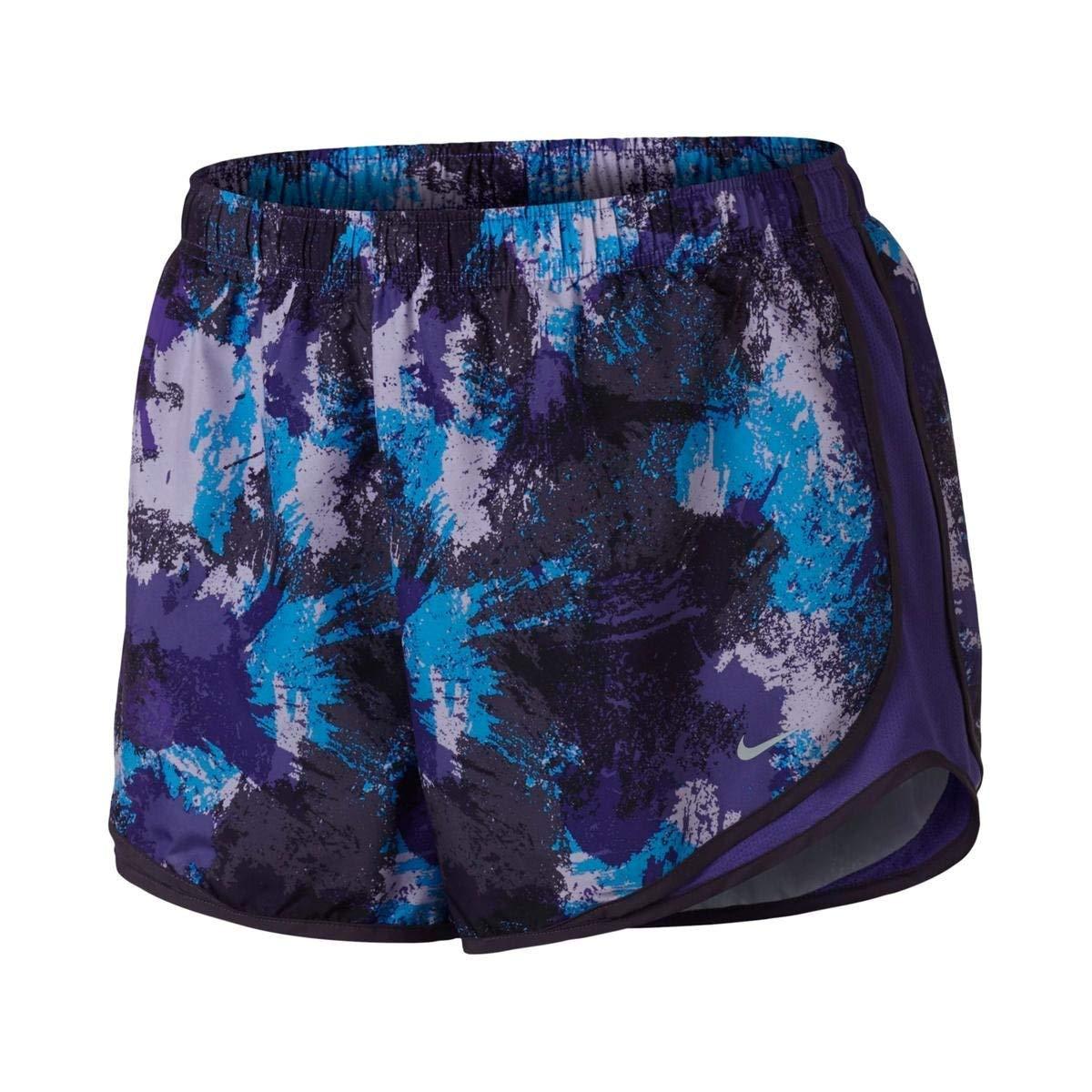87861fdd28 Amazon.com  Nike Women s Plus Size Chalkdust Printed Tempo Shorts  Sports    Outdoors