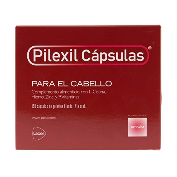 Amazon.com : Pilexil 150 Capsules - Hair Regrowth Treatment - Prevent Hair Loss - Strengthen and Provide Vitality : Beauty