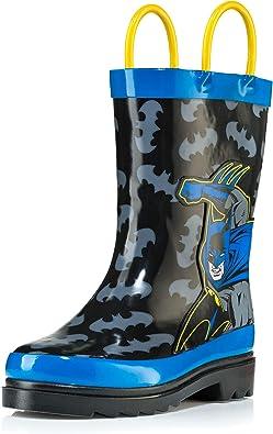 DC Comics Batman Boy's Rain Boots - Size 5 Toddler