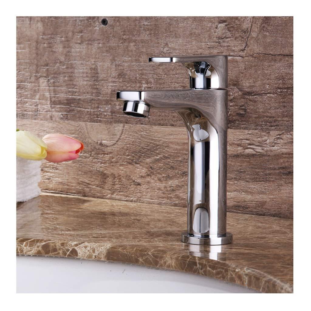 JBP Max Wasserhahn Bad Vanity Single Cold Wasserhahn Einfache Form Beschichtung Technologie Fixiert Prozess-30