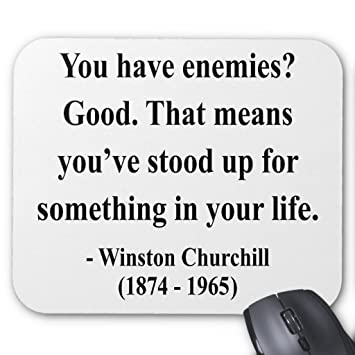 Amazoncom Zazzle Winston Churchill Quote 3a Mouse Pad Office