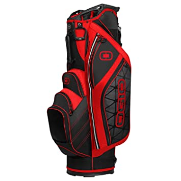 Amazon.com: OGIO Cirrus Cart Bag, Red: Sports & Outdoors