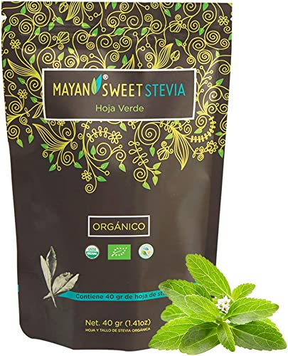Organic Raw Stevia Leaf