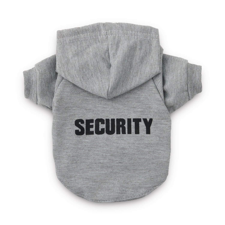 Grey X-Large Grey X-Large DroolingDog Dog Security Shirts (X-Large, Grey)