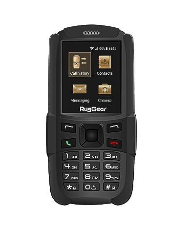 Amazon.com: RugGear rg129, desbloquear resistente teléfono ...