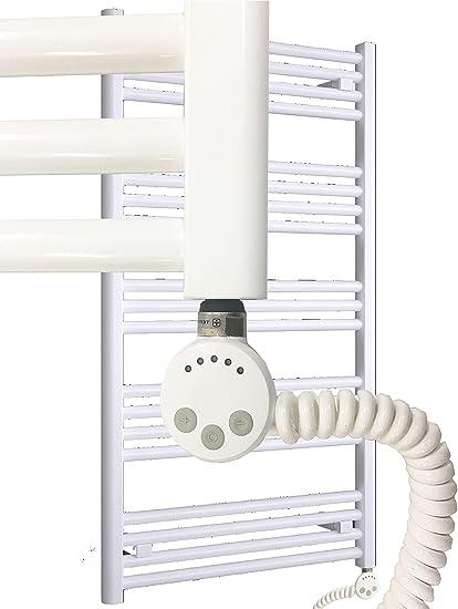 Radiador eléctrico MORA calentadores de toallas White-eléctrica 1022 x 500 mm. 400 vatios
