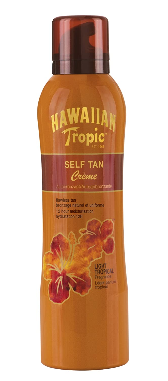 Hawaiian Tropic - Y00581B0 - Autobronzant Crème - 200 ml Y00581E0