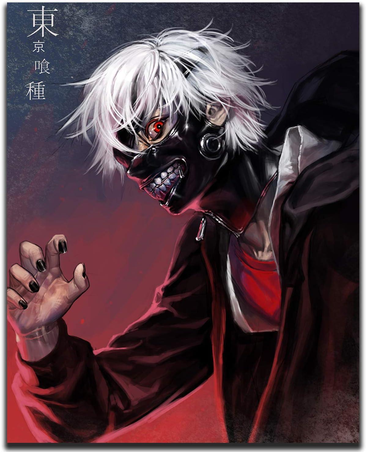 Amazon.com : SUPERIOR POSTER - Tokyo Ghoul - Anime Manga Art Wall ...