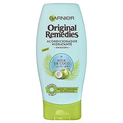 Garnier Original Remedies Acondicionador Agua de Coco y Aloe Vera 200 ml