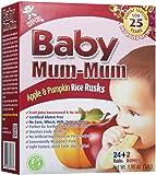 Mum Mum Rice Biscuits - Apple & Pumpkin- 1.76 oz