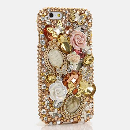 Amazon.com: iPhone se Bling Caso, luxaddiction® [Premium ...