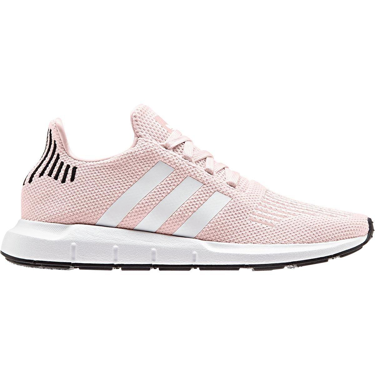 adidas Originals Women's Swift Running Shoe, Ice Pink/White/Black, 9.5 M US
