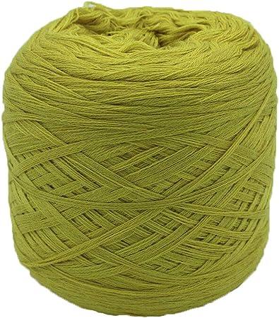 NYJ 250g Suave Suave Suave para la Salud Hilo de Lana Hilo de Punto Madeja Crochet Hilo de algodón para Hacer Punto Hilo Sin Fundido (Color : A): Amazon.es: Hogar