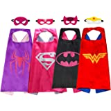 Supreal Kid Cape & Mask Costume Set Cool Children & Toddler Dress Up Party