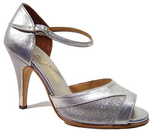 Zapatos De Tango Para Dama Salsa Latino Baile Mujer - Mythique - Romina - Talla 42: Amazon.es: Zapatos y complementos