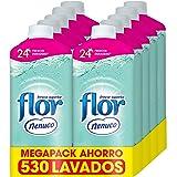 Flor - Suavizante para la ropa concentrado, aroma nenuco, hipoalergénico - Pack de 10, hasta 530 dosis