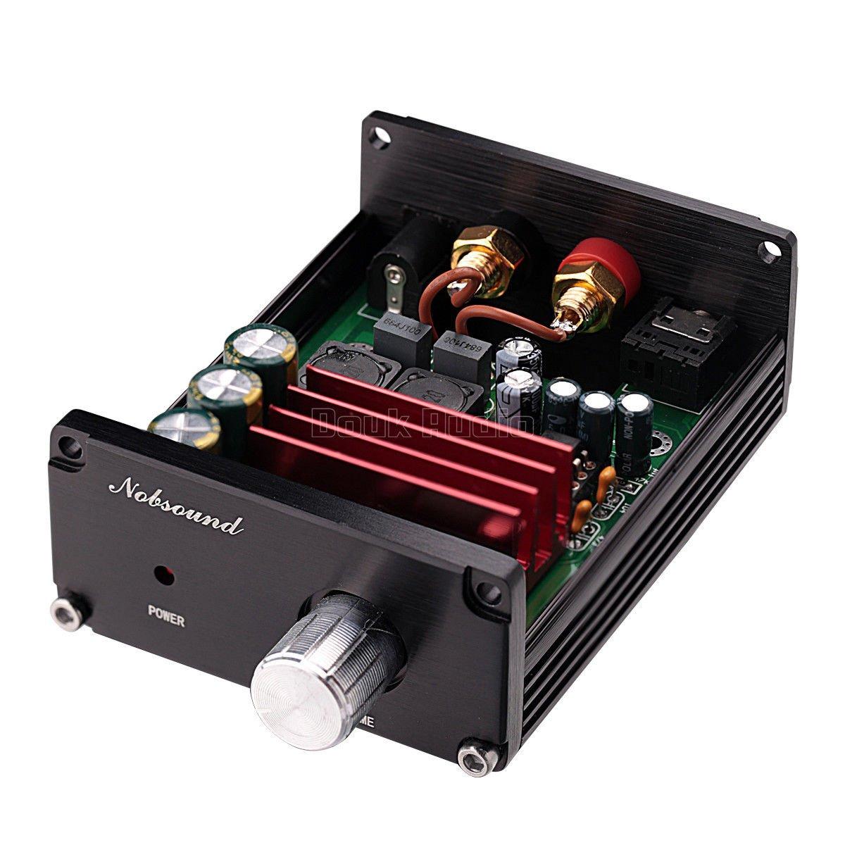Nobsound 100W Subwoofer Digital Power Amplifier Audio Mini Amp (Subwoofer, Black) by Nobsound