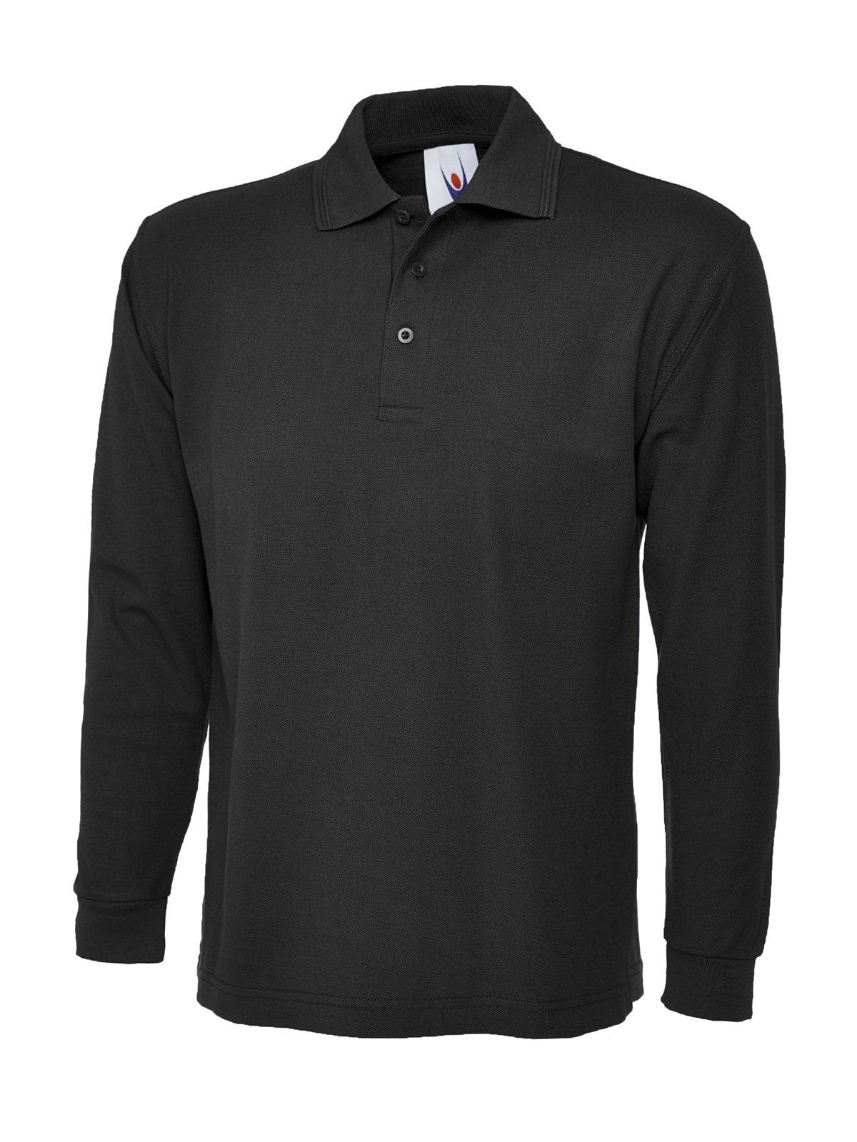 146680717b9 Manga Larga Camisa Polo Simple Ocio Casual Ropa De Trabajo Reforzado Cuello  UC113 product image