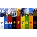 Game of Thrones Season 1 2 3 poster 43 inch x 24 inch / 24 inch x 13 inch