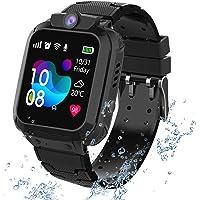 Waterdichte smartwatch voor kinderen; met diverse functies; o.a. lokalisatie via GPS, touchscreen, camera, telefoon…