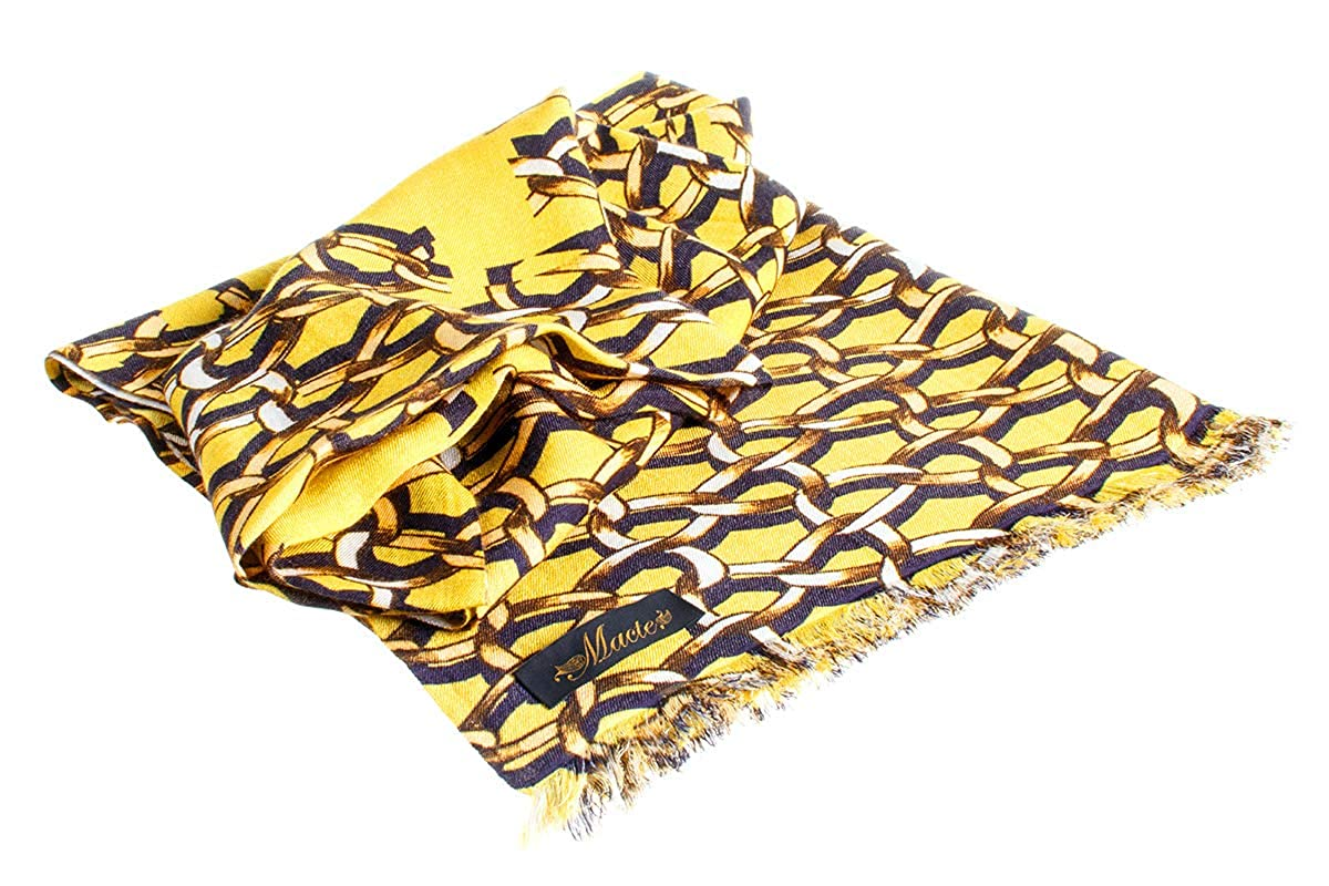 Exclusive Design Made in Nepal Cashmere and Silk Scarf for Women Premium Quality